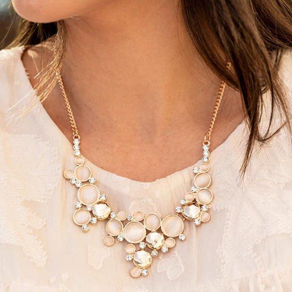 Fairytale Affair Champagne Necklace